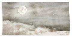 Ivory Moon Hand Towel