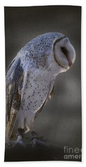 Ivy The Barn Owl Hand Towel