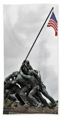 Iwo Jima Memorial Bath Towel