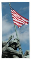 Iwo Jima Memorial Hand Towel