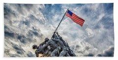 Iwo Jima Memorial Hand Towel
