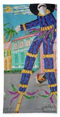 J Ouvert Morning  Hand Towel
