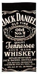 Jack Daniel's Bath Towel