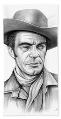 Cowboy Jack Elam Bath Towel
