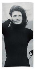 Jackie Kennedy - Painting Bath Towel