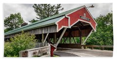 Jackson Covered Bridge Hand Towel by Betty Denise