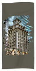 Jackson Tower Portland Oregon Hand Towel by Thom Zehrfeld