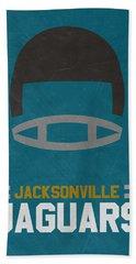 Jacksonville Jaguars Vintage Art Hand Towel
