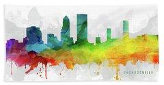 Jacksonville Skyline Mmr-usflja05 Hand Towel