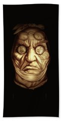 Jacob Marley Hand Towel by Fred Larucci