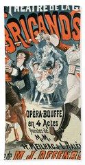 Jacques Offenbach  Les Brigands Vintage Poster Hand Towel