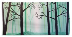 Jaded Forest Hand Towel