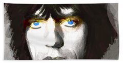 Jagger 1960s By Enki  Hand Towel