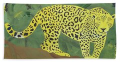 Jaguar Hand Towel
