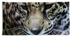 Jaguar Up Close Bath Towel