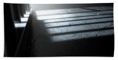 Jail Cell Shadows Hand Towel