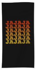 Jajaja Retro Design Hand Towel