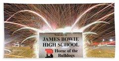 James Bowie High School Hand Towel
