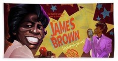 James Brown Hand Towel