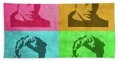 James Dean Vintage Pop Art Hand Towel by Design Turnpike