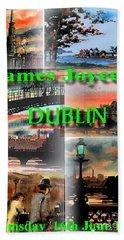 James Joyce's Dublin Hand Towel