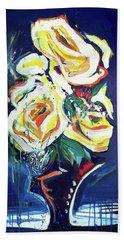 Janes Roses II Bath Towel