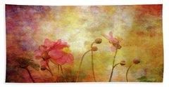 Japanese Anemone Landscape 3959 Idp_2 Bath Towel