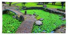 Japanese Garden Bath Towel