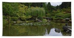 Japanese Gardens 3 Hand Towel