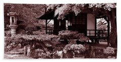 Japanese Gardens Of County Kildare Bath Towel