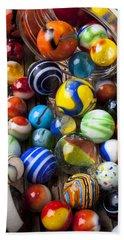 Jar Of Marbles Hand Towel