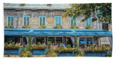 Jardin Nelson On Rue Saint-jacques Bath Towel