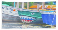 Jaws Bath Towel by Pamela Williams