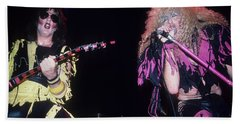 Jay Jay French And Dee Snider Bath Towel
