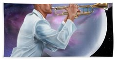 Jazz Universe Hand Towel