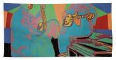 Jazzamatazz Band Hand Towel