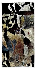 Jazzy Night 8 Hand Towel by Lynda Payton