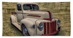 Hand Towel featuring the photograph Jb Pickup by Keith Hawley