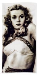 Jean Rogers From Flash Gordon Hand Towel