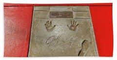 Jeff Gordon Daytona 500 Winner Hand Towel by Paul Mashburn