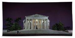 Jefferson At Night Hand Towel
