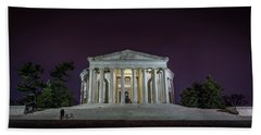 Jefferson At Night Hand Towel