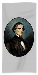 Jefferson Davis Bath Towel