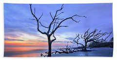 Jekyll Island Sunrise  Bath Towel