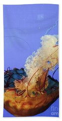 Jelly Ballet Bath Towel by Beth Saffer