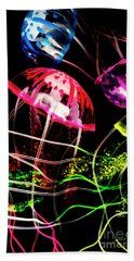 Jelly Fish Trails Hand Towel