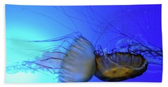 Jellyfish Collision Bath Towel