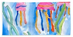 Jellyfish Hand Towel