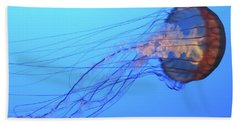 Jellyfish Bath Towel by Joe  Palermo