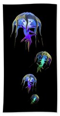 Jellys In Space Hand Towel